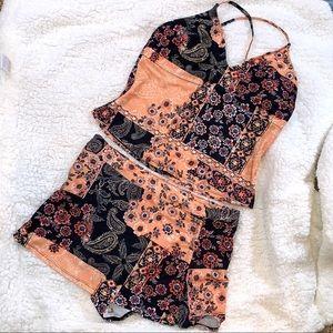 NEW 2-Piece swimsuit— skirted bottom Sz XL